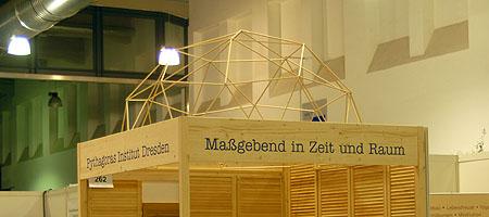 Messestand auf der Aktiv und Vital in Dresden 2008