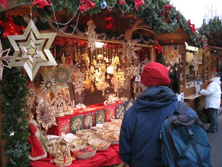 Weihnachtsmarkt in Dresden 2007